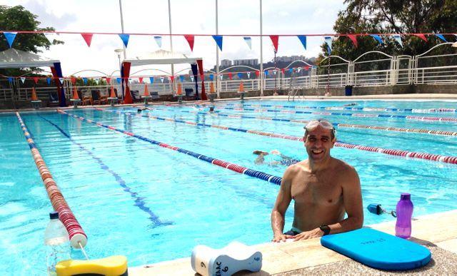 Entrenamiento de natación en el Plan First