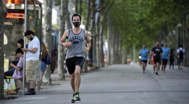 Correr con smog